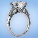 Buy an Antique Art Deco Art Nouveau Gold Wedding Engagement Ring Online