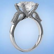 Buy an Antique Art Deco Art Nouveau Gold Wedding Engagement Ring Online