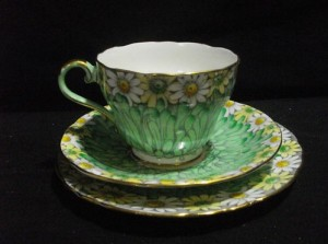 Antique Bone China Tea Cup and Saucer Set Aynsley