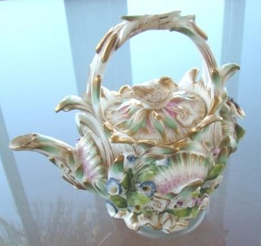 Antique Porcelain Tea Pot