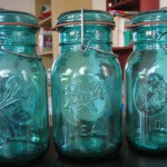 Antique and Vintage Glass Jars