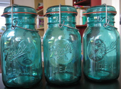 Antique and Vintage Glass Jars