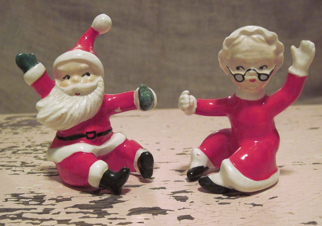Vintage Christmas Figurines