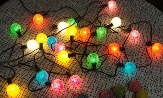 vintage christmas lights Authentic Vintage Christmas Tree Lights