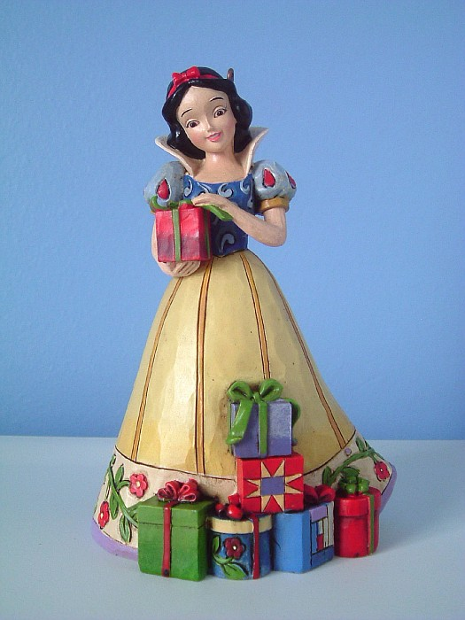 Vintage Snow White Christmas Ornament