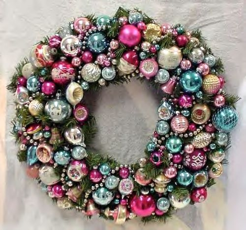 Vintage Christmas Wreath