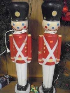 Vintage Christmas Toy Soldier Ornament