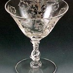 Vintage Wine Glasses | Crystal Stemware