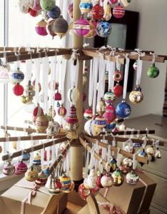Vintage Ornament Tree