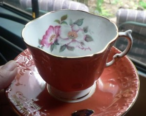 Vintage Tea Cup and Saucer Aynsley