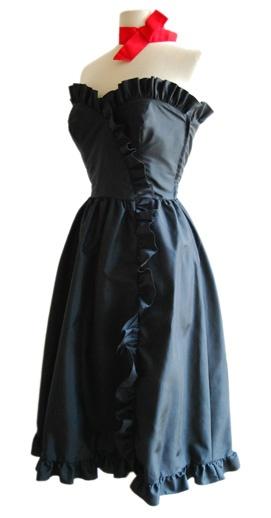 Vintage Designer Dress Bernshaw