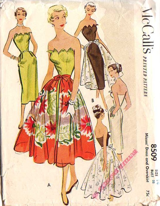 Buy Vintage Sewing Patterns Online