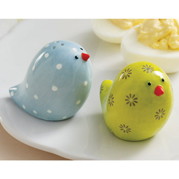 Baby Chicks Vintage Salt and Pepper Shakers