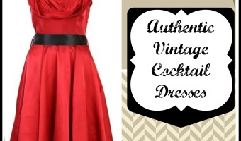 Authentic Vintage Cocktail Dresses