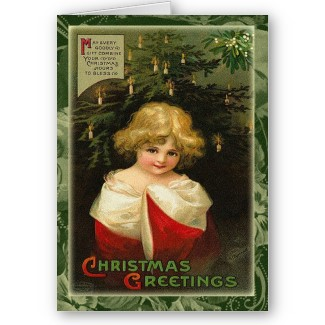 Vintage and Retro Christmas Greeting Cards