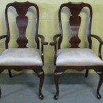Antique Queen Anne Dining Room Chairs