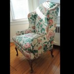 Antique Queen Anne Wingback Chairs