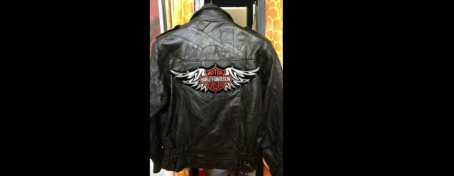Vintage Leather Motorcycle Jacket for Men