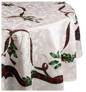 christmas tablecloth Vintage Christmas Tablecloth