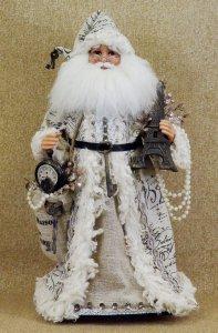 Crakewood Vintage Paris Santa Claus Figurine