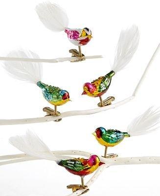 Vintage Christmas Ornaments: Bird