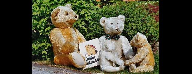 Antique Collectible Steiff Teddy Bears
