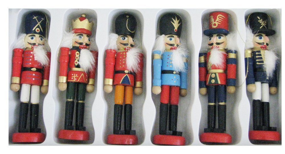 toy soldier nutcrackers Vintage Christmas Ornament: Toy Soldier