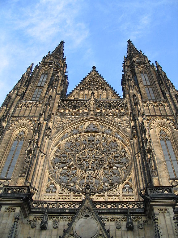 St. Vitus cathedral in Prague, Czech Republic Source: Wikimedia Commons, CC 3.0, Valyag