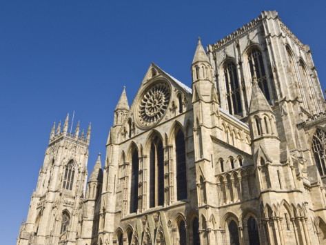 Buy Side View of York Minster, Northern Europe's Largest Gothic Cathedral, York, Yorkshire, England, UK
