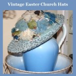 Vintage Easter Church Hats