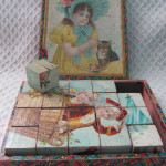 Vintage Wooden Children's Blocks