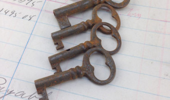 Buy Authentic Antique Vintage Keys | Skeleton Keys Online