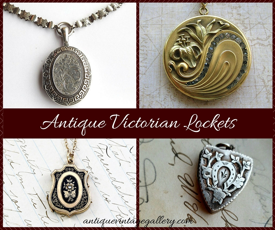 Antique Victorian Lockets