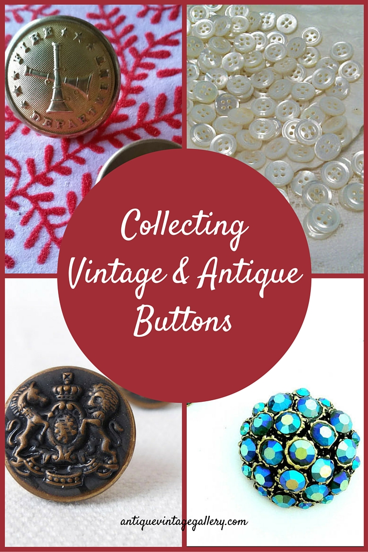 Collecting Vintage and Antique Buttons