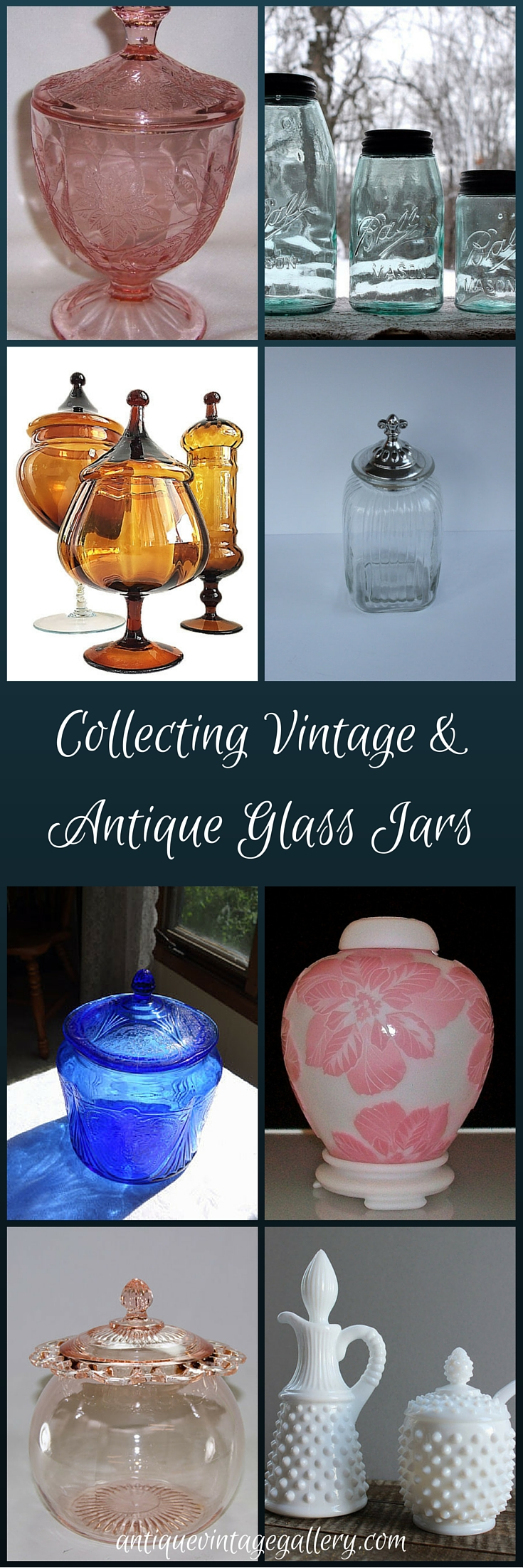 Collecting Vintage and Antique Glass Jars