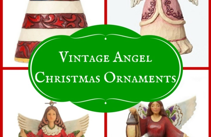 Vintage Christmas Ornament: Angel