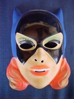 Vintage Batgirl Mask