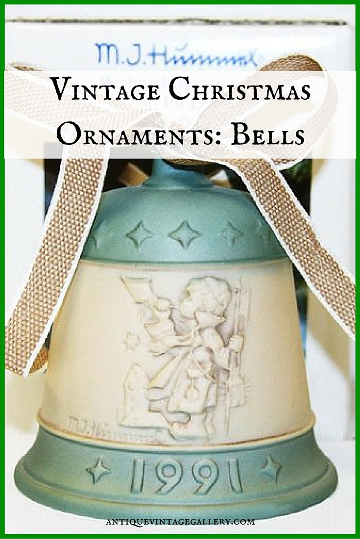 Vintage Christmas Ornaments: Bells