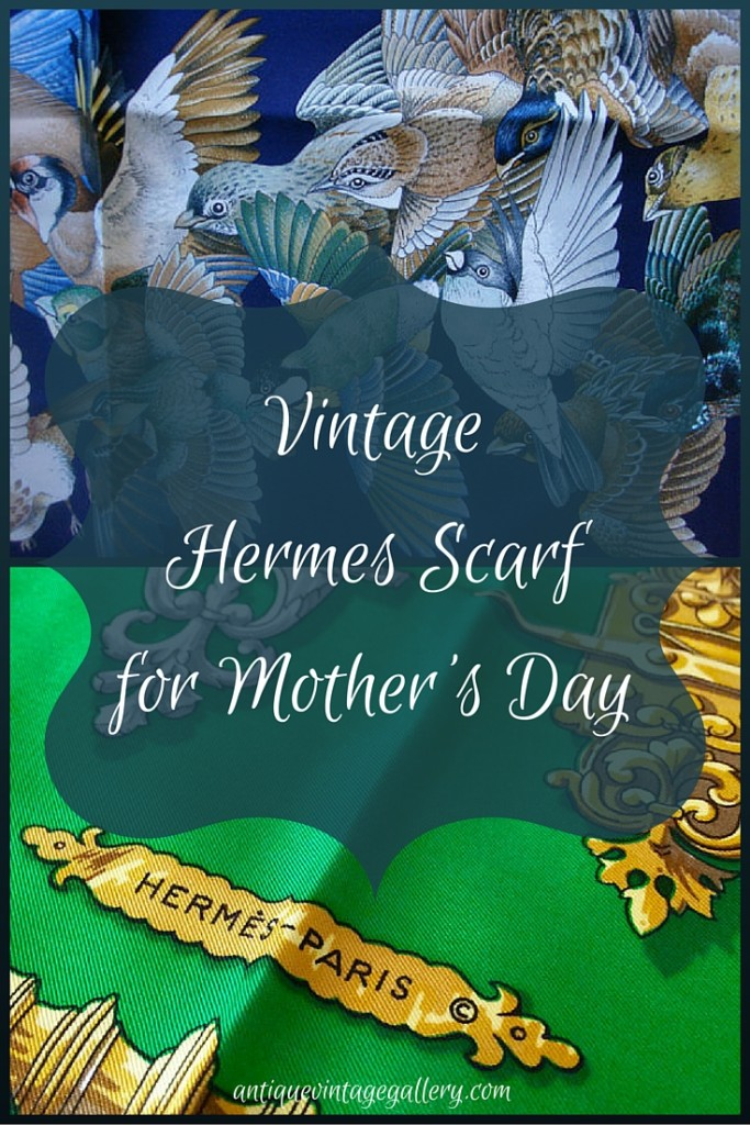 Vintage Hermes Scarf for Mothers Day