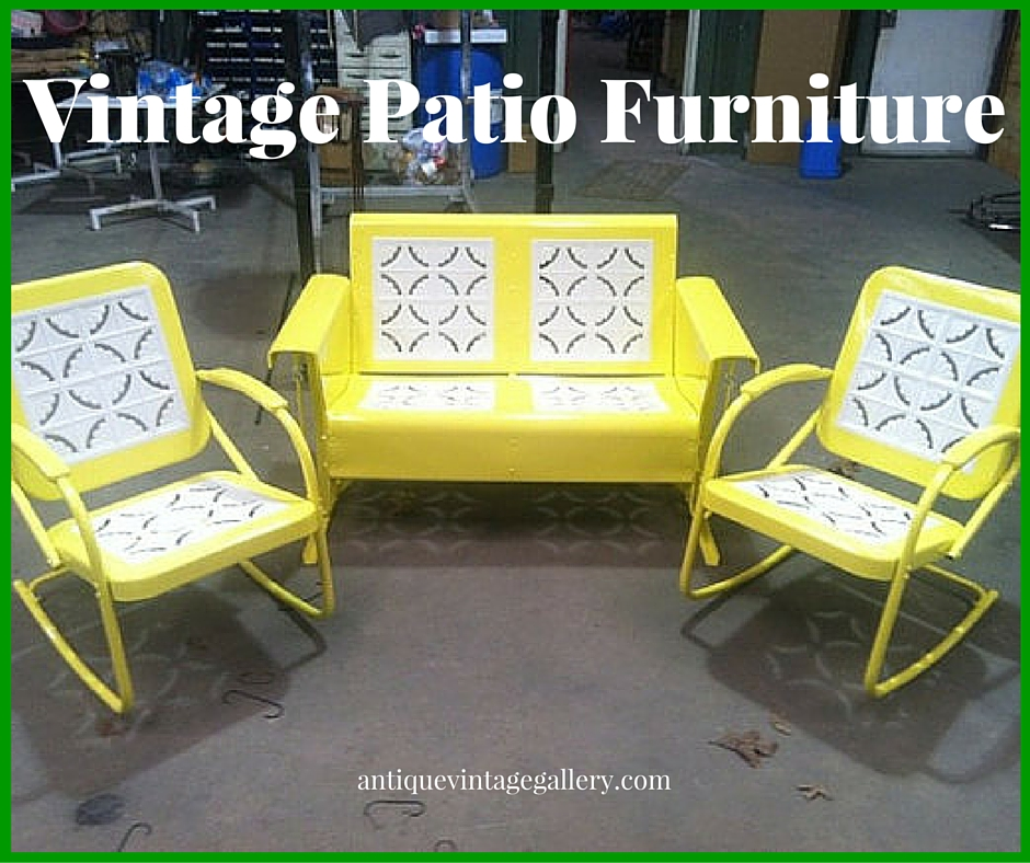Vintage Patio Furniture