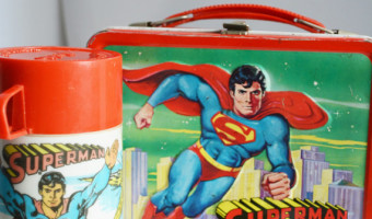 Vintage Superman Lunch Box 1970s