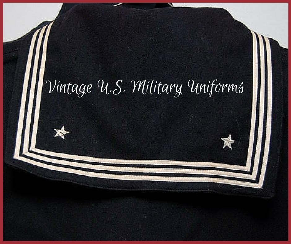 Vintage U.S. Military Uniforms