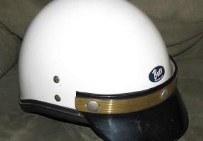 Vintage Buco Motorcycle Helmet