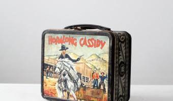 1950s Hopalong Cassidy Lunch Box