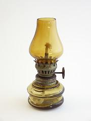 Antique Vintage Oil Lamp