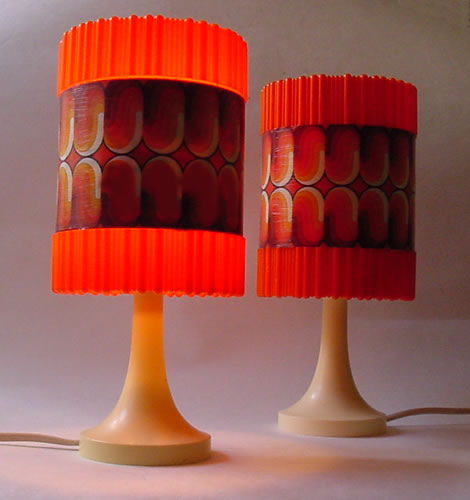 Vintage Pair of Table Lamps