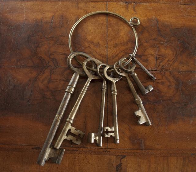 Old Jail Skeleton Keys