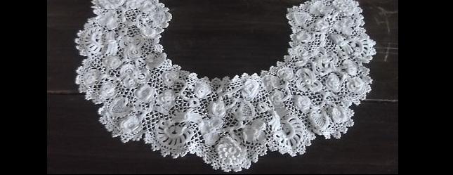 Antique Irish Lace Collar