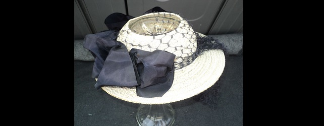 Antique Woman's Derby Hat