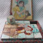 Vintage Wooden Children's Blocks